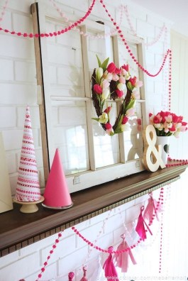 Creative DIY Valentines Day Decoration Ideas To Beautify Your Home 44