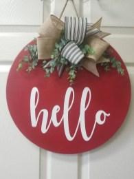 Cute Valentine Door Decorations Ideas To Spread The Seasons Greetings 38