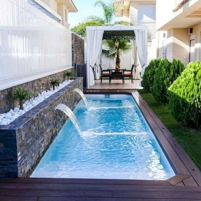 Extraordinary Small Pool Design Ideas For Small Backyard 21