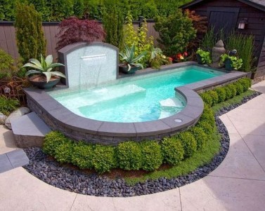 Extraordinary Small Pool Design Ideas For Small Backyard 32