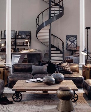 Fabulous Industrial Loft Make Over Ideas For Trendy Home 40