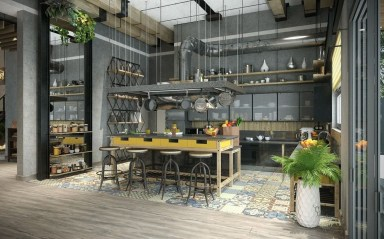 Fabulous Industrial Loft Make Over Ideas For Trendy Home 50