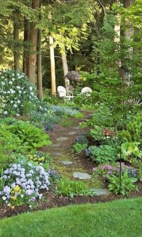 Fascinating Cottage Garden Ideas To Create Cozy Private Spot 20