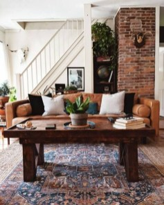 Gorgeous Bohemian Farmhouse Decorating Ideas For Your Living Room 12