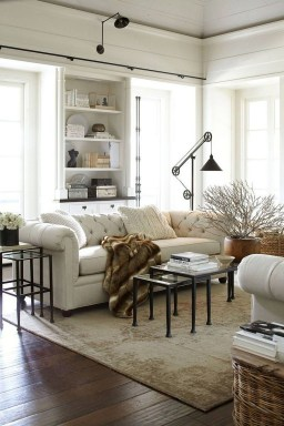 Gorgeous Bohemian Farmhouse Decorating Ideas For Your Living Room 44
