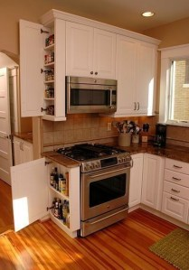 Gorgeous Small Kitchen Design Ideas For Your Small Home 02