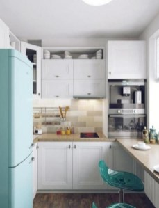 Gorgeous Small Kitchen Design Ideas For Your Small Home 04