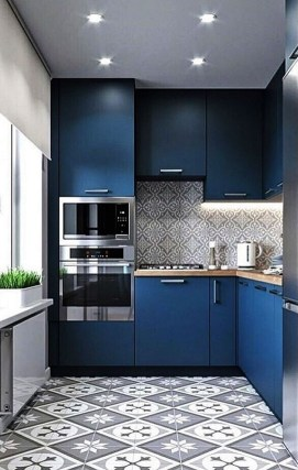 Gorgeous Small Kitchen Design Ideas For Your Small Home 17