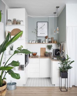 Gorgeous Small Kitchen Design Ideas For Your Small Home 19