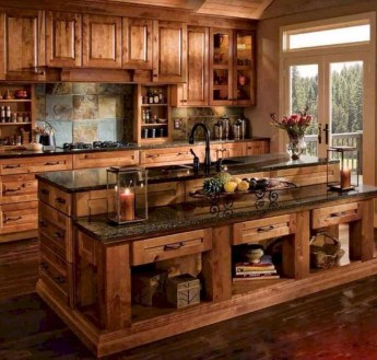 Gorgeous Small Kitchen Design Ideas For Your Small Home 26