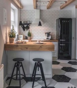 Gorgeous Small Kitchen Design Ideas For Your Small Home 39