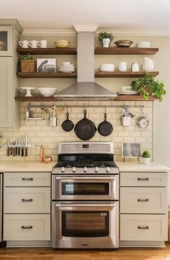 Gorgeous Small Kitchen Design Ideas For Your Small Home 50
