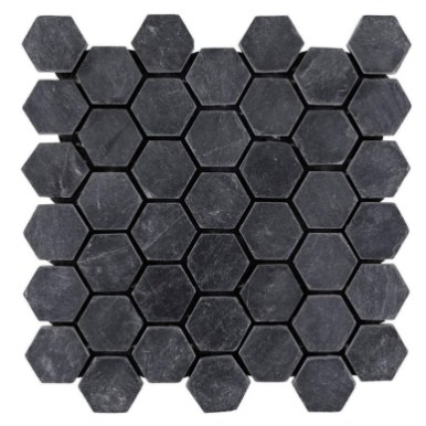 Impressive Black Floor Tiles Design Ideas For Modern Bathroom 42