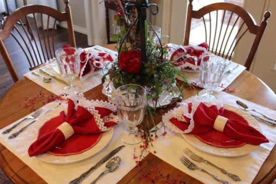 Magnificent Dining Room Decorating Ideas For Valentine's Day 12
