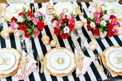 Magnificent Dining Room Decorating Ideas For Valentine's Day 14