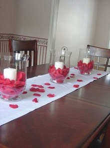 Magnificent Dining Room Decorating Ideas For Valentine's Day 27