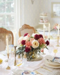 Magnificent Dining Room Decorating Ideas For Valentine's Day 42