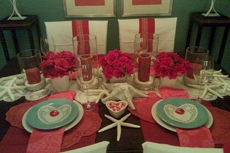 Magnificent Dining Room Decorating Ideas For Valentine's Day 46