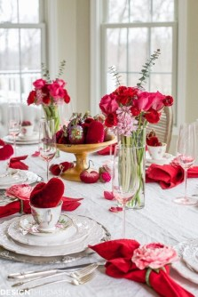 Magnificent Dining Room Decorating Ideas For Valentine's Day 50