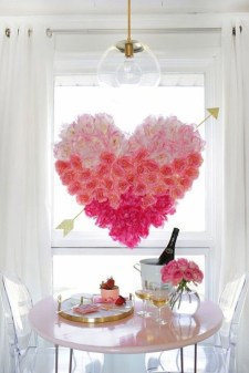 Perfect Valentine's Day Romantic Dining Table Decor Ideas For Two People 15