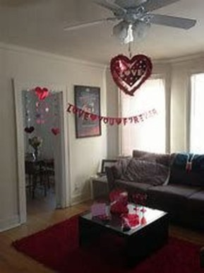 Romantic Valentine Decoration Ideas For Your Living Room 15