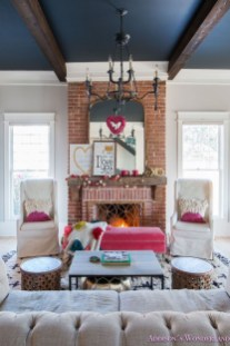 Romantic Valentine Decoration Ideas For Your Living Room 36