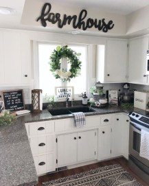 Rustic Farmhouse Kitchen Ideas To Get Traditional Accent 21