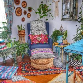 Trendy Bohemian Style Decoration Ideas For You To Try 40