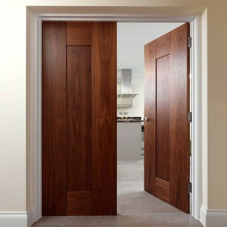 Artistic Wooden Door Design Ideas To Try Right Now 11