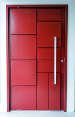 Artistic Wooden Door Design Ideas To Try Right Now 24