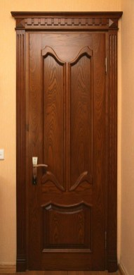 Artistic Wooden Door Design Ideas To Try Right Now 26