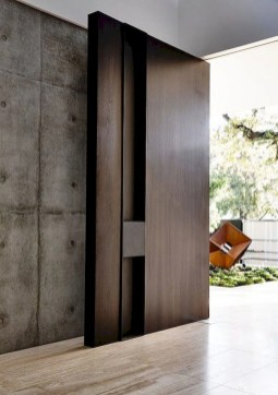 Artistic Wooden Door Design Ideas To Try Right Now 34