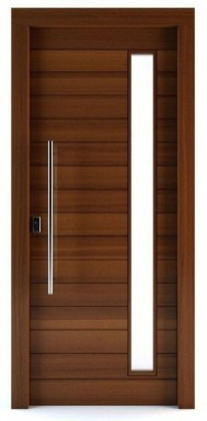 Artistic Wooden Door Design Ideas To Try Right Now 37