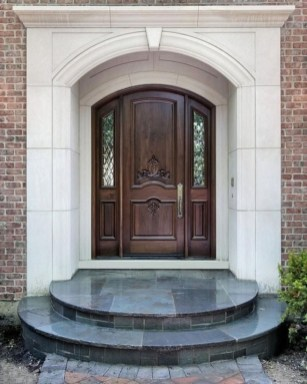 Artistic Wooden Door Design Ideas To Try Right Now 39