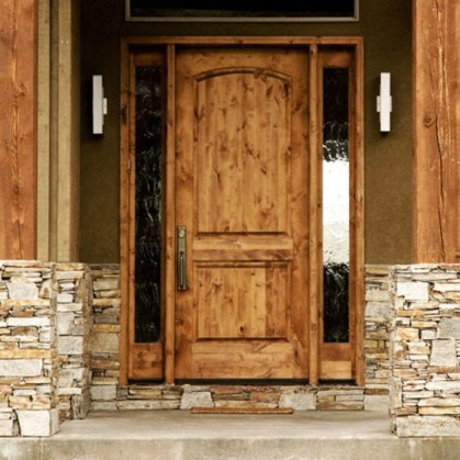 Artistic Wooden Door Design Ideas To Try Right Now 42