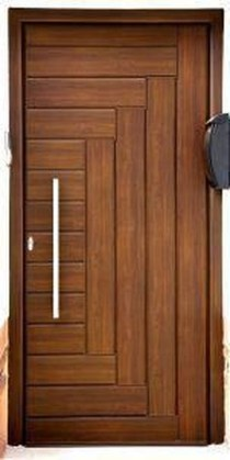 Artistic Wooden Door Design Ideas To Try Right Now 44