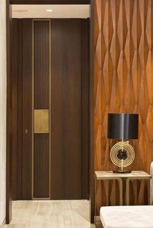Artistic Wooden Door Design Ideas To Try Right Now 47