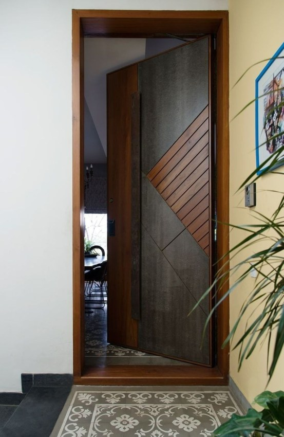 Artistic Wooden Door Design Ideas To Try Right Now 48