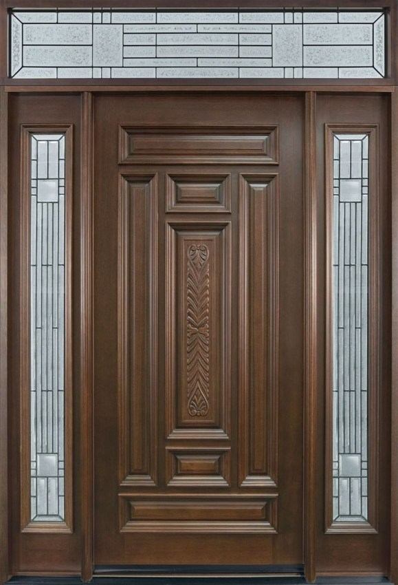 Artistic Wooden Door Design Ideas To Try Right Now 49