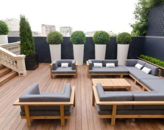 Attractive Terrace Design Ideas For Home On A Budget To Have 12