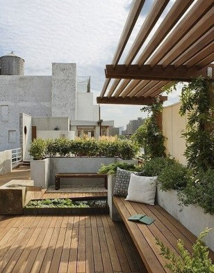 Attractive Terrace Design Ideas For Home On A Budget To Have 17