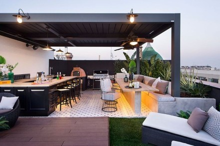Attractive Terrace Design Ideas For Home On A Budget To Have 36