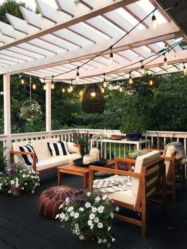 Attractive Terrace Design Ideas For Home On A Budget To Have 45