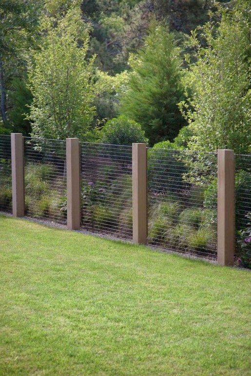Awesome Farmhouse Garden Fence For Winter To Spring 22