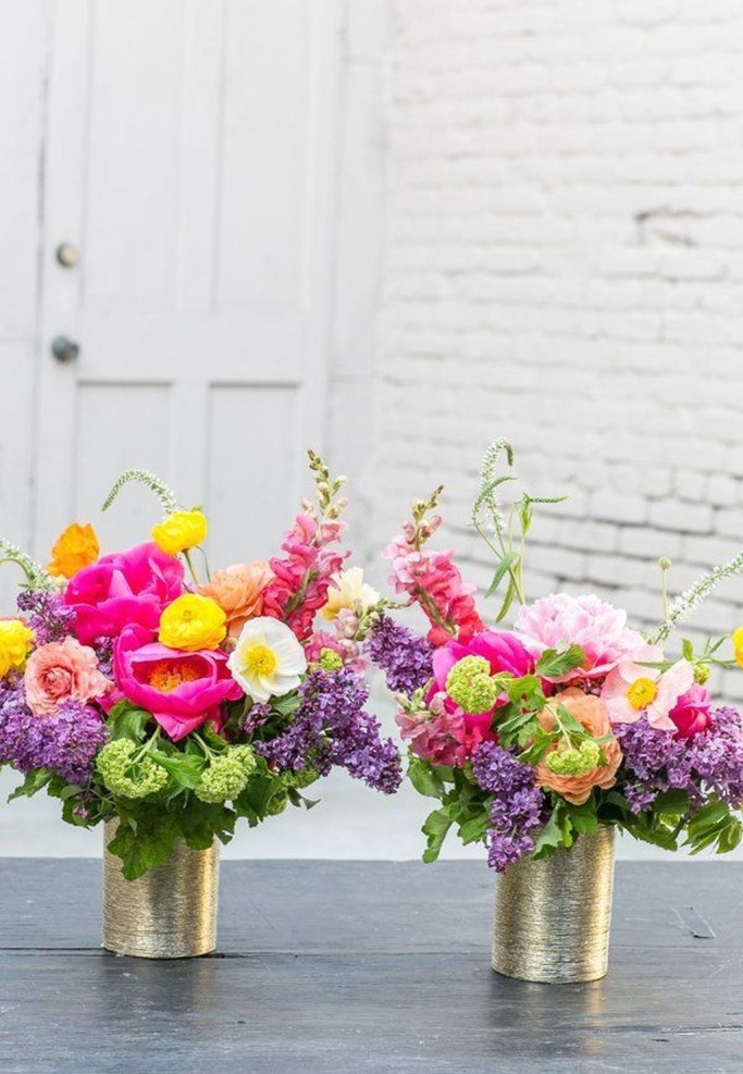 Best Spring Flower Arrangements Centerpieces Decoration Ideas 24