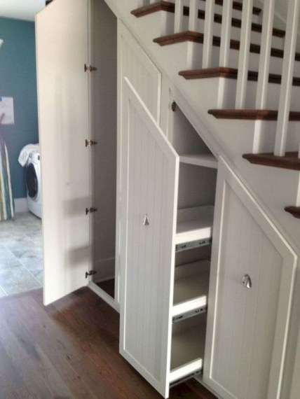 Brilliant Storage Ideas For Under Stairs To Try Asap 46