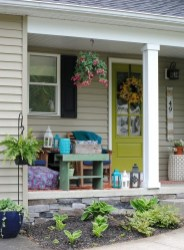 Creative DIY Exterior Design Ideas For Spring And Summer 37