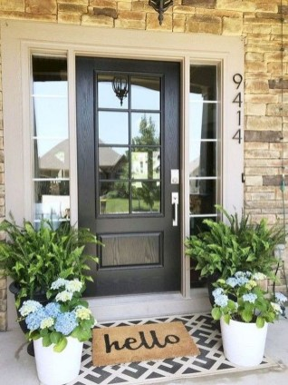 Creative DIY Exterior Design Ideas For Spring And Summer 44