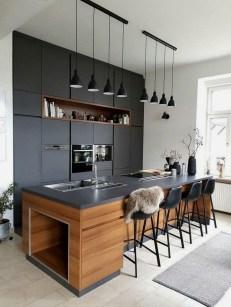 Delicate Black Kitchen Interior Design Ideas For Kitchen To Have Asap 01
