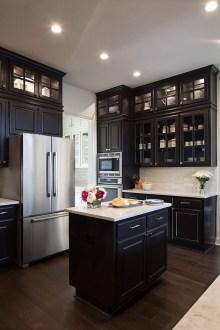 Delicate Black Kitchen Interior Design Ideas For Kitchen To Have Asap 15